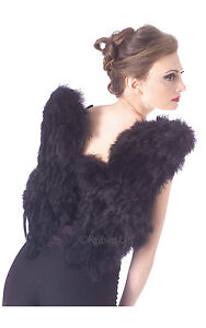 Fancy-Dress-Accessory-Black-Feather-Wings