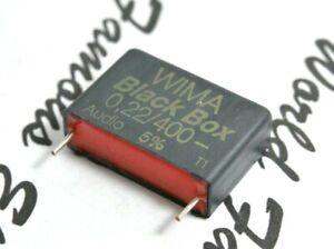 1pcs-WIMA-Black-Box-0-22uF-220nF-400V-5-pitch-22-5mm-Capacitor-NOS-Genuine
