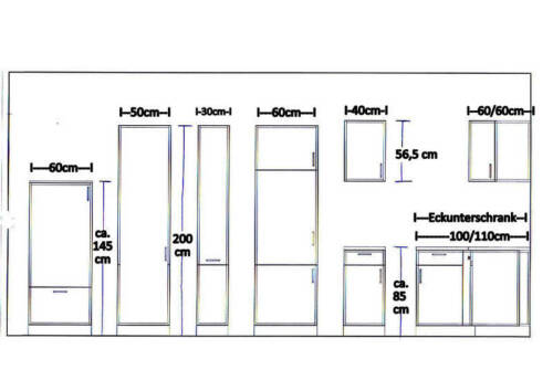 Spülenunterschrank MANKASIGMA Vanille//Sonoma 100cm ohne Arbeitsplatte//ohne Spüle