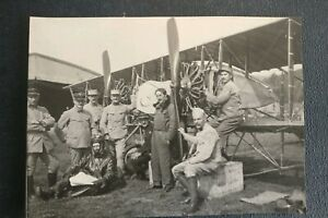 Aviation-14-18-Hispano-Suiza-Pilote-Mechanic-Officers-Military-Ww1