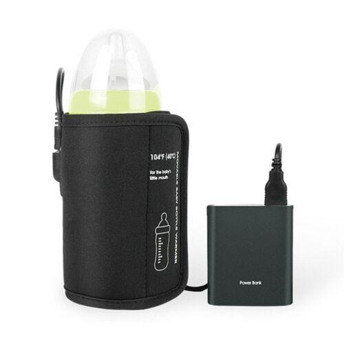 Tragbarer USB Flaschenwärmer Babynahrung Auto Babykostwärmer Flaschen Isolierung
