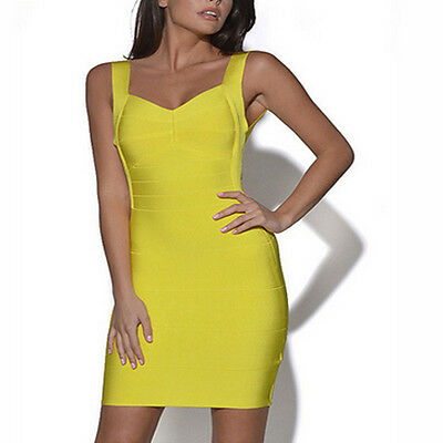 Sexy Women Skinny Bandage Bodycon Dress Backless Cocktail Party Strapless NEW