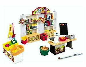 PLAYMOBIL-General-Grocery-Store-Mart-Accessories-set-NEW-FREE-SHIPPING