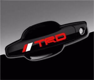 Toyota-TRD-Vinyl-Decal-Tacoma-Sticker-for-door-handle-mirror-wheels-4pcs-set