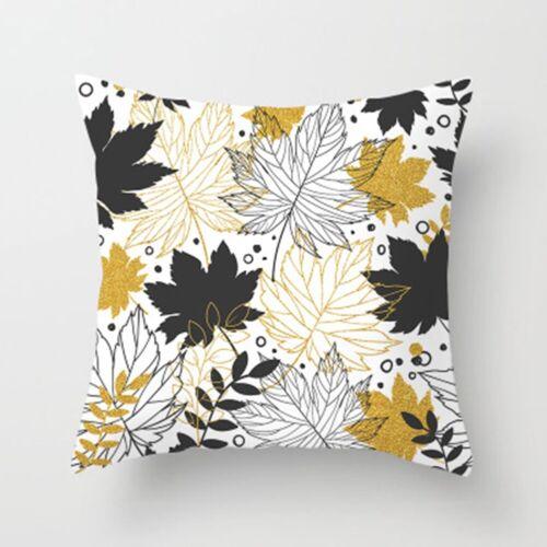 18 18 Pillow Case Garden Cover Decoration Home Leaf Outdoor Floral Cushion Home Décor Pillows Edemia Home Garden