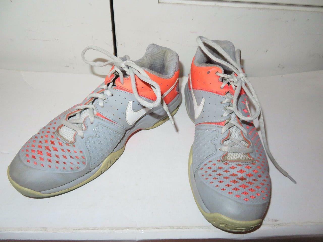 WOMENS NIKE AIR CAGE ADVANTAGE PINK AND GRAY SNEAKER SIZE 8.5