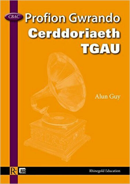 Alan Guy: WJEC GCSE Music Listening Tests - Welsh, New, Rhinegold Education Book