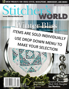 STITCHER-039-S-WORLD-MAGAZINE-YOUR-CHOICE