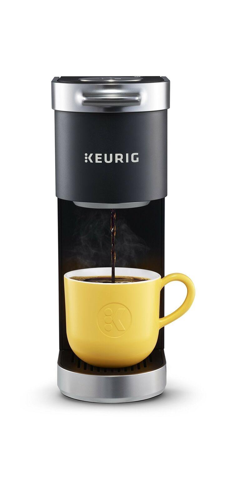 Keurig K-Mini Plus simple servir K-Coupe Pod Cafetière, avec 6 To 12 oz (environ 340.19 g) Brew S....