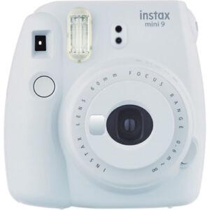 Fujifilm-instax-mini-9-Instant-Film-Camera-Smokey-White-NEW