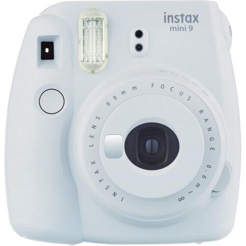 Fujifilm instax mini 9 Instant Film Camera (Smokey White) - *NEW*