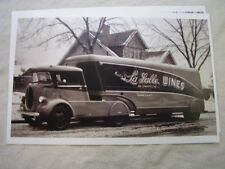 1939 Ford Truck Custom Built Lasalle Wines 11 X 17 Photo Picture