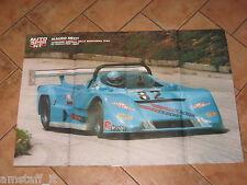 # POSTER F.1 MAURO NESTI OSELLA PA9-BMW CAMPIONE EUROPEO MONTAGNA 1988 AA5