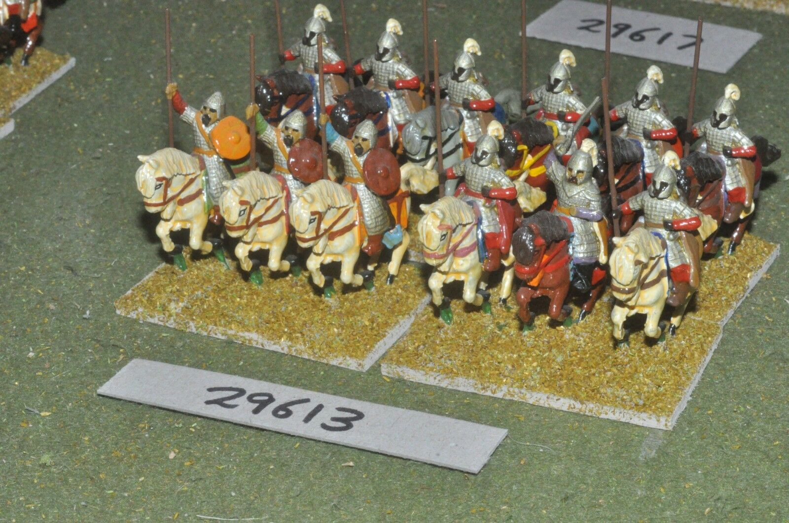 25mm medieval   saracen - heavy 12 figures - cav (29613)