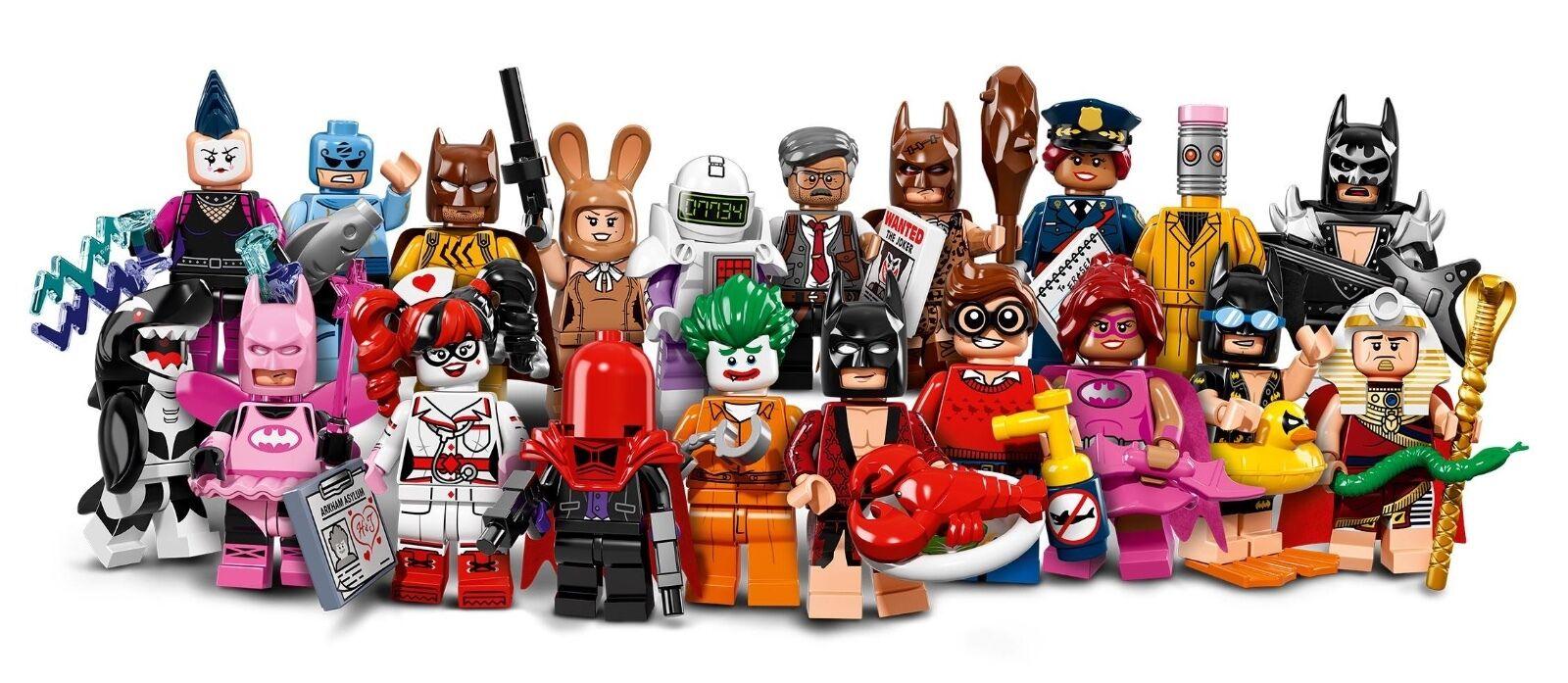 per offrirti un piacevole shopping online LEGO BATuomo MOVIE MOVIE MOVIE MINIcifraS COMPLETA SEALED SIGILLATA completare 20 71017  miglior prezzo migliore