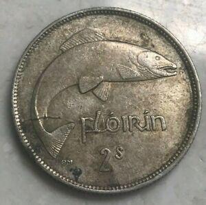 1941 Ireland Florin - Nice Silver