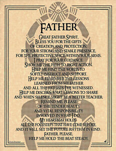 Poster-Page-GREAT-FATHER-SPIRIT-Pagan-Wicca-Book-of-Shadows-Guide-8-1-2-x11