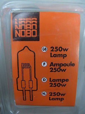 Projector bulb lamp for OHP Overhead Projector NOBO 24v 250w new stock