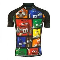 Men's Ropa Ciclismo Cartoon Cycling Jersey Mmds-m Cute Bike Jersey Novelty Tops