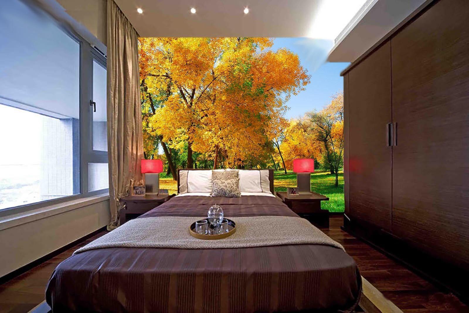 3D Wie bäume.068657 Fototapeten Wandbild Fototapete BildTapete Familie DE