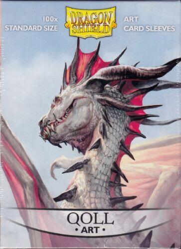 Dragon Shield Art Deck Protector Sleeves 100 ct brand new Qoll Mear Carnax