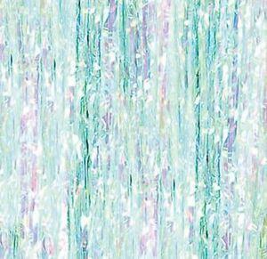 Unicorn Iridescent Foil Shimmer Curtain Backdrop Disco Door Photo Booth