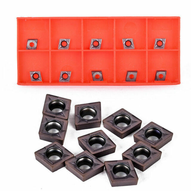 CCMT060204 Indexable Carbide Inserts Cutter Blades For Lathe Turning Tool Holder