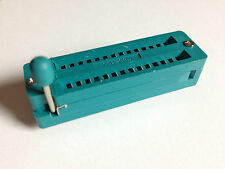 28-pin IC-Nullkraftsockel, schmal   7,62 mm   ZIF Socket   SIP DIP