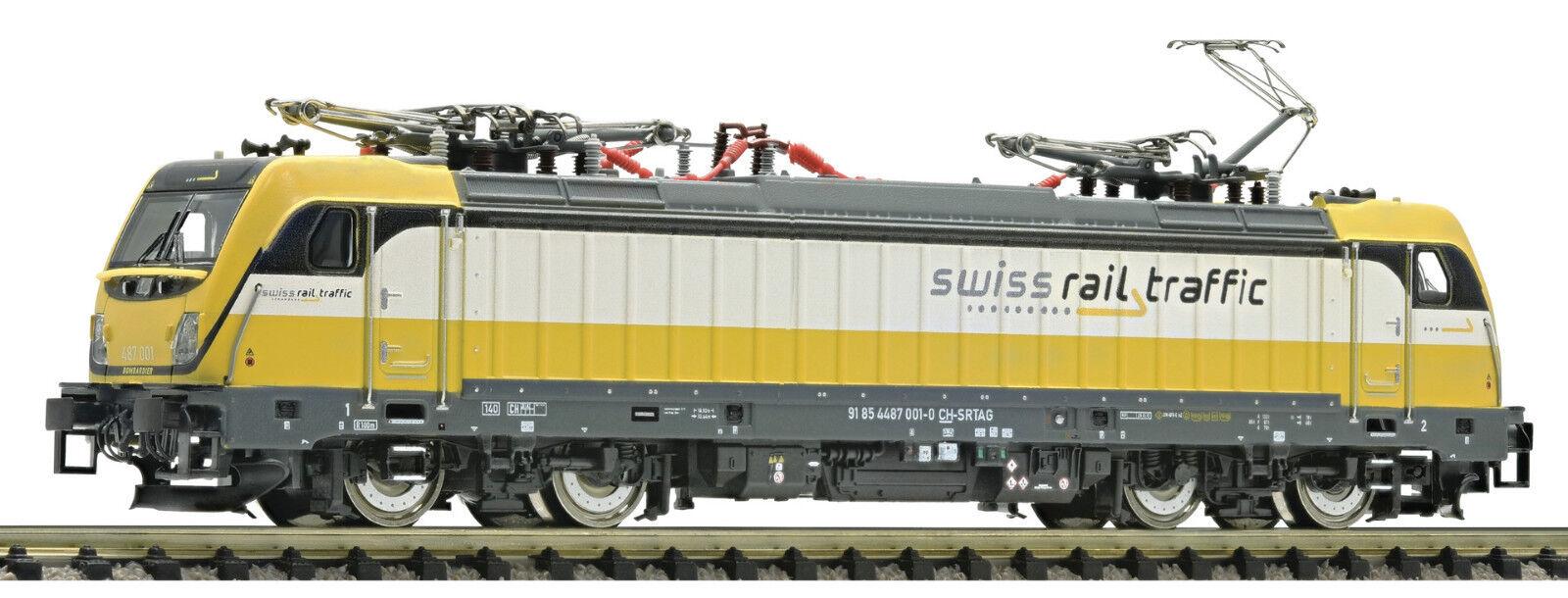 Fleischmann N 738972 E-Lok SUONO Br 487 001 Svizzero Rail Traffico SBB Ep Vi
