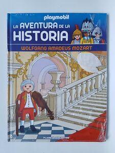 Playmobil-Coleccion-Libros-La-Aventura-de-la-Historia-N-57-Amadeus-Mozart-Libro