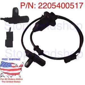 New abs wheel speed sensor fit mercedes benz c215 w220 cl for Abs system mercedes benz