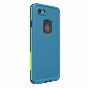best website 2d012 abf14 LifeProof Fre Waterproof Snow Drop Proof Blue Green Case Cover for iPhone 7  8