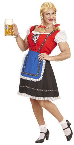 Dirndl Costume da uomo con sottoveste e grembiule Oktoberfest Dirndl per uomini KK