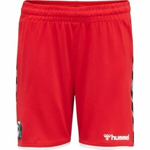 Hummel-Kinder-SC-Freiburg-SCF-Authentic-Poly-Shorts-2019-20-Trainingshose-kurz