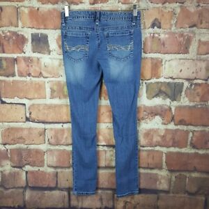 Rue-21-Womens-Low-Rise-Skinny-Jeans-Size-3-4-Juniors-29-Inseam