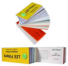 Farbfolie von Lee Farbfilterbogen Musterheft Desiners Edition Lichtfilter Blitz