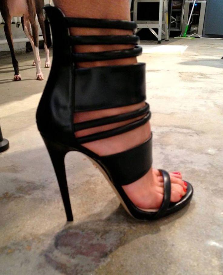 Ruthie Davis Strappy Stilleto Sandals Size 37.5 UVP 850 EURO!