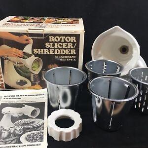 Vintage KitchenAid Hobart ROTOR SLICER SHREDDER Attachment ...