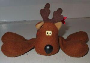 1979-Hallmark-Rodney-Reindeer-Vintage-Collectible-Christmas-Plush-Toy-Floppy-GUC