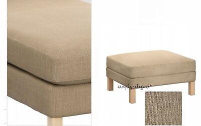 Brilliant Ikea Karlstad Cover For Karlstad Footstool Ottoman Lindo Lindo Beige Slipcover Ebay Creativecarmelina Interior Chair Design Creativecarmelinacom