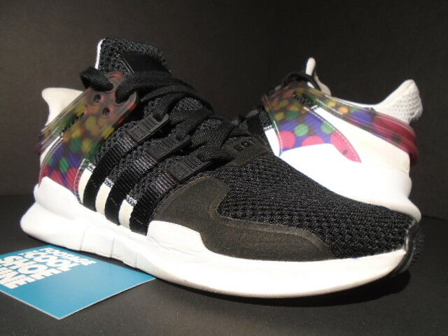 ADIDAS EQT SUPPORT ADV PRIDE PACK CORE BLACK WHITE PINK blueE CM7800 NMD R1 5