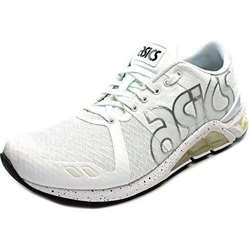 New Asics Men's H6B0N.0190 Gel Lyte Running shoes White Black Sz US 10.5