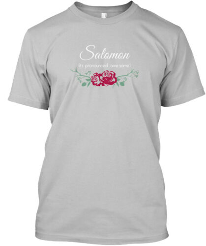Salomon Its Pronounced Awe Some Standard Unisex T-shirt