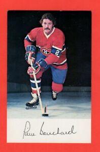 1975-76-Pierre-Bouchard-Montreal-Canadiens-Postcard-Rare-Exmt-nrmnt