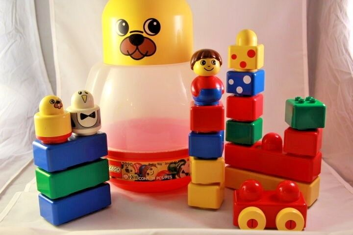 LEGO 2090 Duplo Primo Baby Baby Baby Storage Bear 1996 Vintage COMPLETE RETIRED FREE SHIP  0c83f9