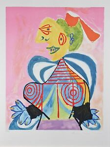 034-L-039-Arlesienne-034-from-Marina-Picasso-Estate-Ltd-Edition-of-500-Litho-29-5-034-x21-5-034