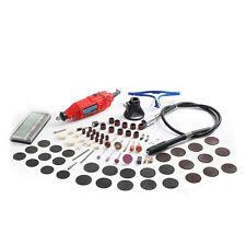 NEW 220V 180W Electric Dremel Rotary Tool Mini Drill and 140pcs Power Tools