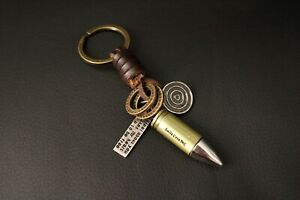 AuPra-Bullet-Keyring-Leather-Vintage-Keychain-Key-Ring-Pendant-Boy-Gifts