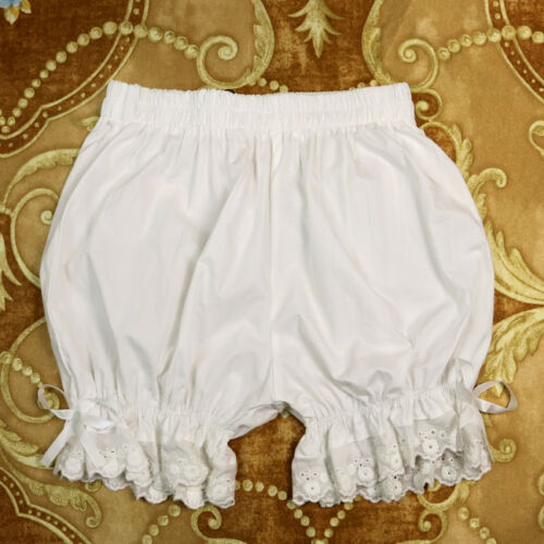 Sweet Lolita Lace Pumpkin Bubble Women Cotton Bloomers Under Pants Safety Shorts