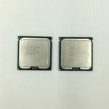 2pcs Intel Xeon X5482 3.2GHz 12M 1600M Quad-Core SLANZ Socket771 CPU Matched Pai